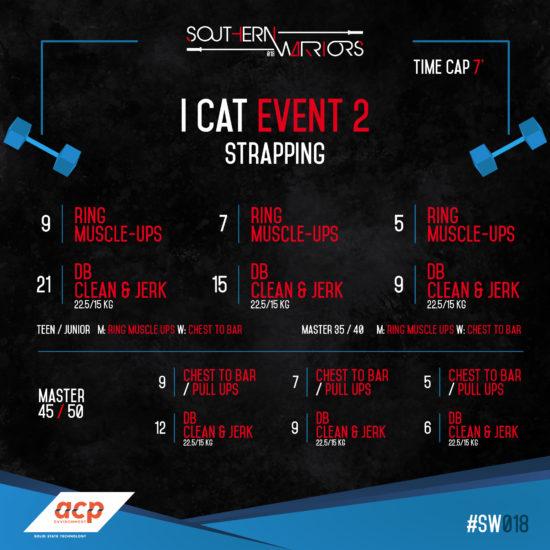 I cat - Event 2-Icat