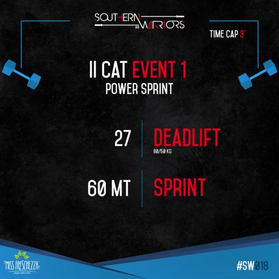 IIcat - event 1