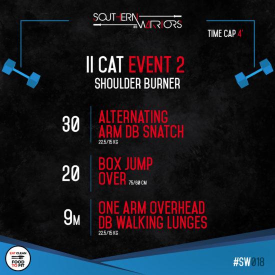 IIcat - event 2